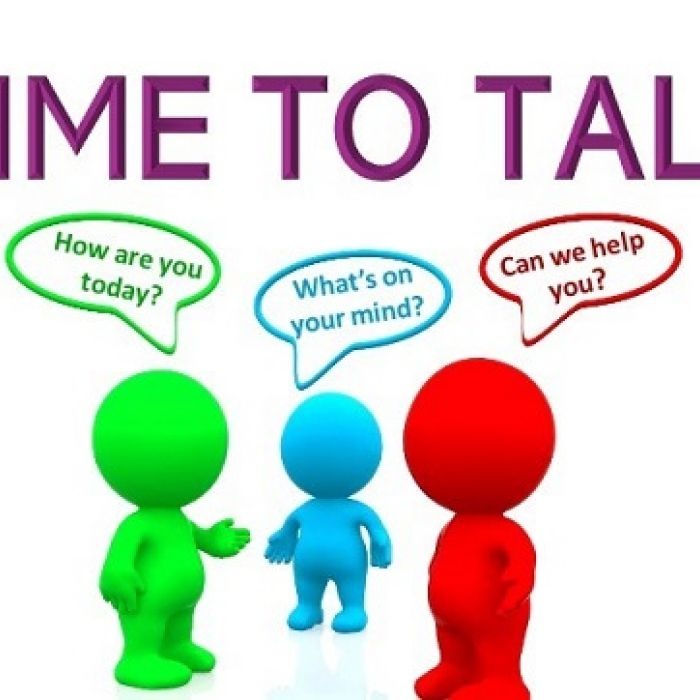 New to Alsager 'Time to Talk'