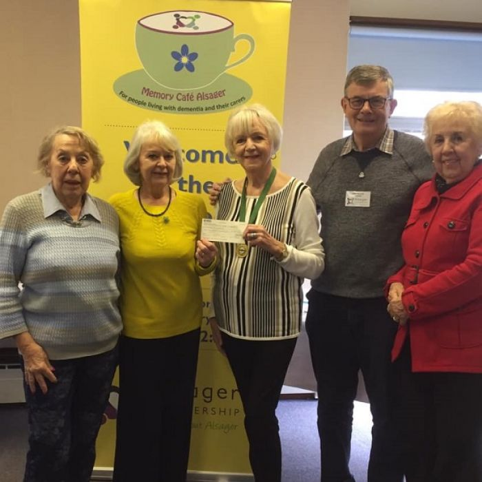 Pikemere Townwomen's Guild Donation