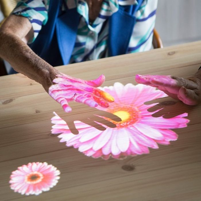 Tovertafel (Magic Table) in Alsager supports people living with dementia.